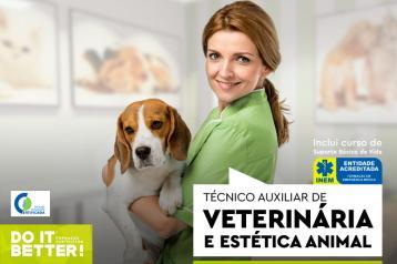 Curso Técnico Auxiliar de Veterinária.