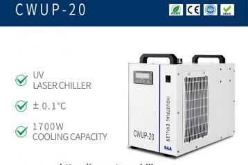 Resfriador de água a laser ultrarrápido CWUP-...